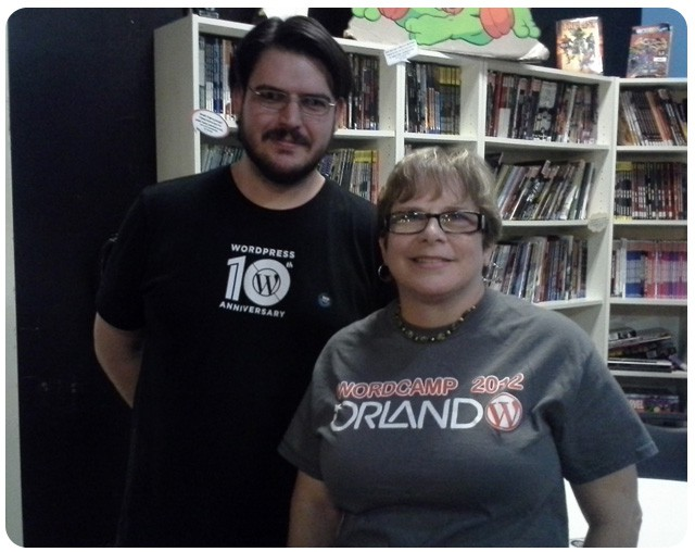 WordPress 10th Anniversary Picture, James Tyrone and Carol Gann